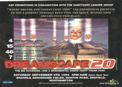 Brisk live at Dreamscape 20, September 1995