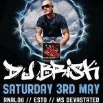 Deluxe Presents: DJ Brisk 3rd May - Brisbane