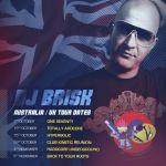 DJ Brisk - 2016 U.K tour dates