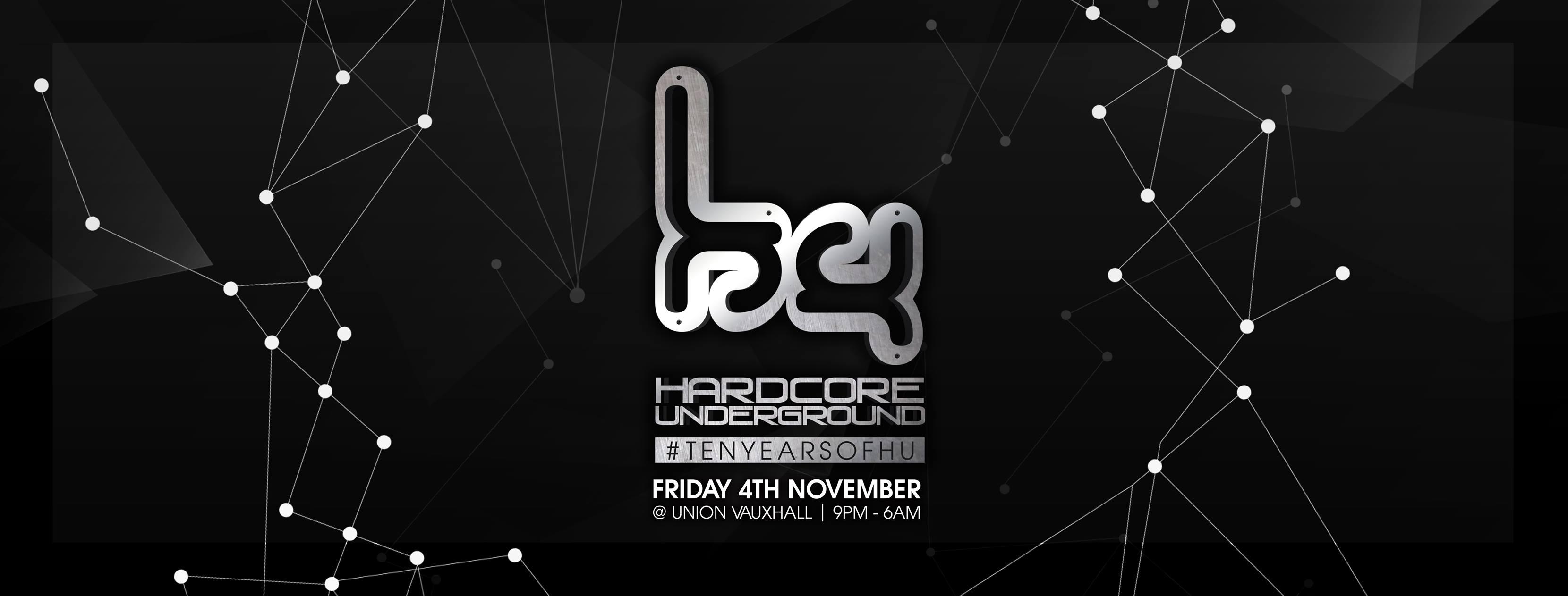 Hardcore Underground – 10th Birthday